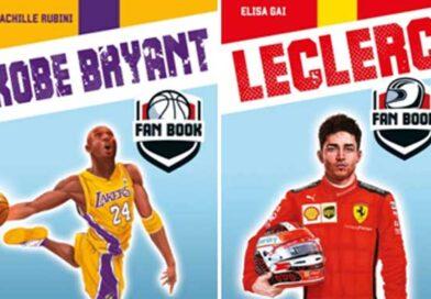 Kobe Bryant e Charles Leclerc in libreria