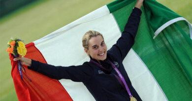 Jessica Rossi portabandiera dell'Italia alle Olimpiadi
