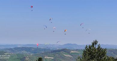 In Val Parma i campionati italiani di parapendio 2021